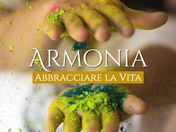 """<h3><font color=""""#cd7e01"""">Armonia<br></h3> Abbracciare la Vita</font>"""